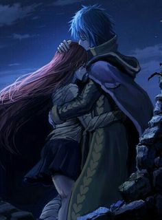 Fairy Tail - Erza and Gerard