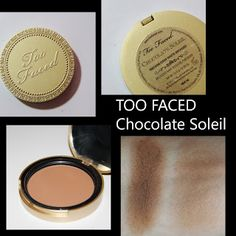 MichelaIsMyName: TOO FACED Chocolate Soleil Bronzer REVIEW
