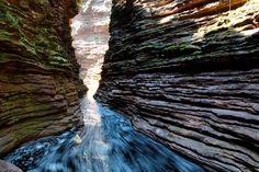 Cachoeira do Buracão (foto tirada em longa exposição ( por isso esse rastro da…