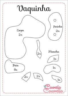 Carmela Caramella : Presépio - aula 3 - moldes