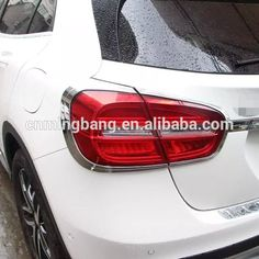 Exterior Car Accessories ABS Chrome Taillight/Tail Light Cover For GLA 2015