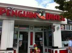 The Penguin Diner in Charlotte...Awesome Fried Pickles from Diners, Drive-In's and Dives