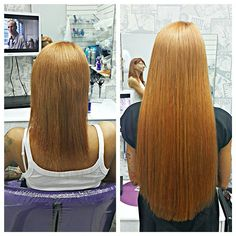 Холодное наращивание волос в Vereya Studio. До и после