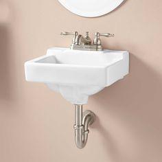 "Jellbeck+Wall-Mount+Sink 14"" x 12"" deep"