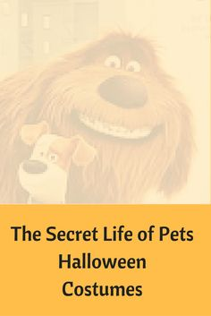 """The Secret Life of Pets Halloween Costumes. There are some really cute """"The Secret Life of Pets"""" Halloween outfit for both children and adults."""
