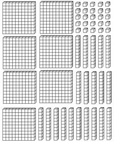 En ocasiones las escuelas no pueden contar con este material concreto para todos… Sometimes schools cannot have this specific material for all students, so a solution is to print and go through … Math Workbook, Kids Math Worksheets, Math Resources, Math Activities, I Love Math, Fun Math, Math Drills, Math Coach, Math Words