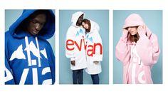 Rad. (French brand) x Evian® : streetwear