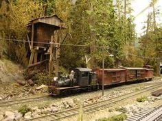 Résultats de recherche d'images pour «lumber camp model train»