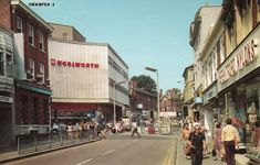 Watford Hight Street (old postcard) London Location, England, Watford, Old Postcards, Britain, United Kingdom, Street View, Explore, City