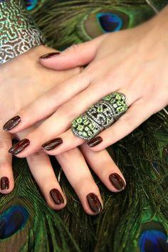 Silver ,diamonds and tsavorite. www.nesluxury.com