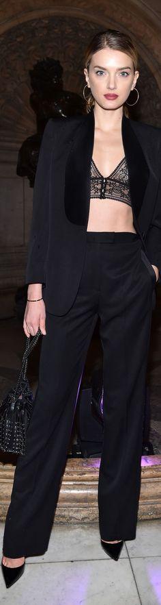 Lily Donaldson in Stella McCartney #PFW