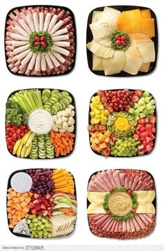 food platters / food + food recipes + food videos + food photography + food and drink + food recipes for dinner + food aesthetic + food platters Party Food Platters, Food Buffet, Food Trays, Meat Trays, Buffet Food Ideas Cold, Party Trays, Party Buffet, Meat And Cheese Tray, Vegan Blueberry
