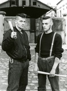 The Red Warriors were a Paris street gang who used violent force to remove Nazis from France in the mid-late 80's.