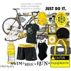 A Nike Triathlete