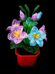 Пёстрые цветы. Колокольчики