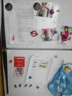 Al abrir el frigo, horario de trabajo, pautas alimentarias de mi hijo, un no parar desde bien temprano