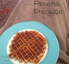 Receita preguiça: Waffle Integral