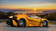 Lamborghini Sinistro by Maher Thebian at Coroflot.