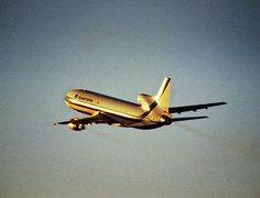 Eastern Air Lines Lockheed L-1011-385-1 TriStar 1 ascending out of Miami-International, it's primary hub of operations, November 1974. (Photo via Flickr: Kenny Ganz)