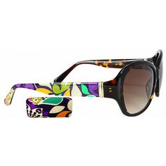 13b841354ac Vera Bradley Sunglasses - Anna in Plum Crazy pattern