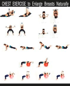 Chest Exercise to Enlarge Breasst Naturally
