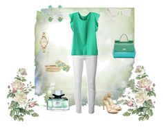 """verde menta"" by berta93 ❤ liked on Polyvore"