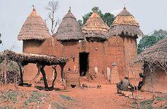 Somba people - Benin