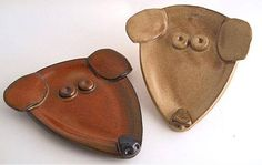 Dog Spoon Rest, perfect clay project – Hobbies paining body for kids and adult Pottery Animals, Ceramic Animals, Clay Animals, Hand Built Pottery, Slab Pottery, Ceramic Pottery, Clay Projects For Kids, Kids Clay, Pottery Classes