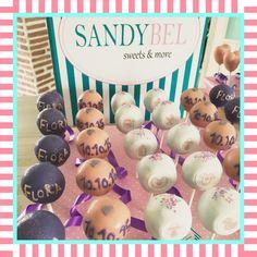 Cake Pops für die Taufe der kleinen Flora by #sandybel #taufe #sweets