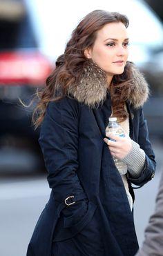 Leighton Meester - Leighton Meester and Penn Badgley Film Gossip Girl 2