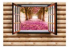 Różowy park Decor, Home Decor, Frame