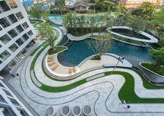 """曼谷""""氧气公园""""公寓景观 / Redland-scape"""