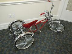 Lowrider 3 Wheel Tricycle Trike Bike Bicycle Cruiser Show