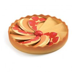 Djeco TartO Pommes `One size Details : 1 Tart Pastry, Apple Slices * Age : From 3 years old * Diameter : 14 cm. http://www.MightGet.com/january-2017-13/djeco-tarto-pommes-one-size.asp