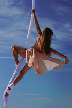 Aerial Dance, Aerial Hoop, Aerial Arts, Aerial Silks, Future Photos, Pole Dancing, Law Of Attraction, Exercises, Clouds