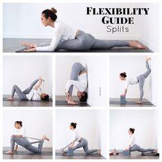 Beginners guide to splits flexibility by @jl.yoga  swipe left to watch her video on it! #yogatutorial #splits #yoga