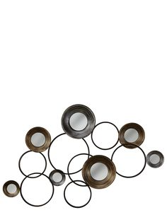 Circles Metal Wall Art   Isme.com