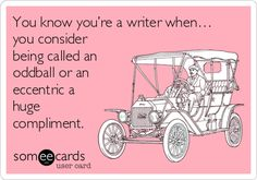 You know you're a writer when… #writinghumor http://writersrelief.com/