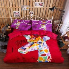 Find More Bedding Sets Information about Horse Head Big Printing Single Twin Queen Size Bedding Set 3 4pcs Duvet Cover Sheet housse de couette Totoro cama shark bedding,High Quality sheet skin,China sheet queen Suppliers, Cheap bedding bag from Top Qulity Human Hair Factory on Aliexpress.com