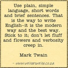 Learn more about the author, Mark Twain here ~~~ Writers Write offers the best writing courses in South Africa.Writers Write - Write to communicate Book Writing Tips, Writing Words, Fiction Writing, Writing Resources, Writing Help, Writing Skills, Writing Prompts, Writing Courses, Mark Twain Quotes