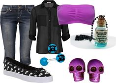 A fashion look from March 2013 featuring sheer shirts, ONLY and stretch bras. Emo Outfits, Summer Outfits, Cute Outfits, Scene Style, Style Me, Emo Fashion, Gothic Fashion, Emo Clothes, Addiction