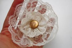 Sweet and simple embellishment to top a gift or any other DIY project...