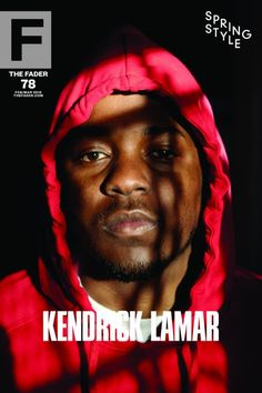 """Kendrick Lamar / The FADER Issue 78 Cover 20"""" x 30"""" Poster"""