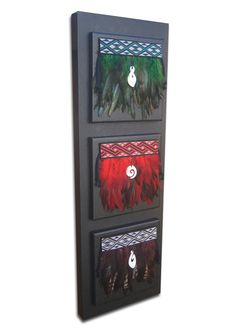 Triple korowai on canvas. Pieces available at www.styleyfullas.com. Or on facebook under Styley Fullas.