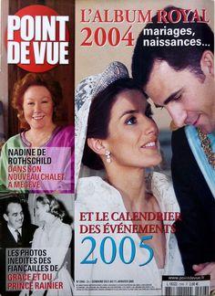 POINT DE VUE 2005: NADINE DE ROTHSCHILD_GRACE KELLY et RAINIER_LES ROIS DU NEPAL fr.picclick.com
