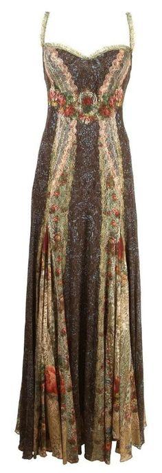 Hippy boho dress
