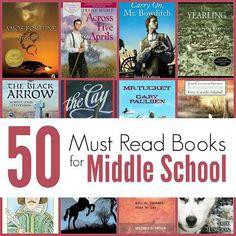 Middle School Reading List for Homeschool | The Unlikely Homeschool | Bloglovin'