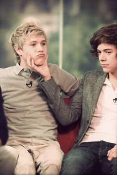 Niall and Harry.