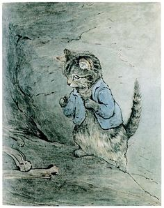 Tom Kitten --Helen Beatrix Potter (28 July 1866 – 22 December 1943)