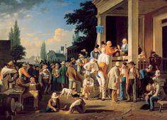 George Caleb Bingham: The County Election (1852)